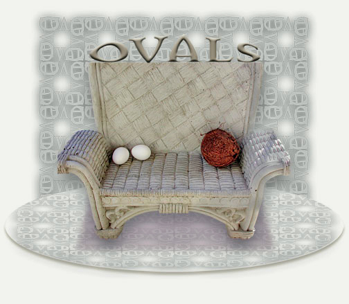 Oval Throne by Lisa Rivas