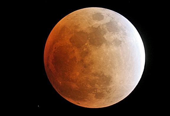 Lunar Eclipse 02-2008 ©John Cara