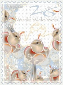 Sweet Tweets e-stamp by Lisa Rivas