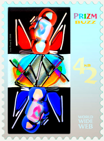 42 Buzz e-Stamp by Lisa Rivas