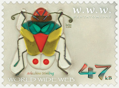 Arlecchino e-Stamp by Lisa Rivas