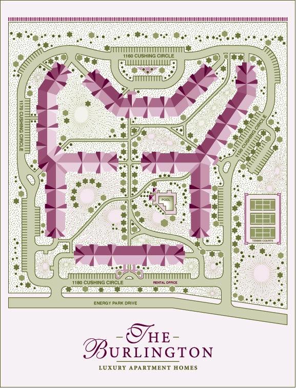 The Burlington SiteMap by Lisa Rivas