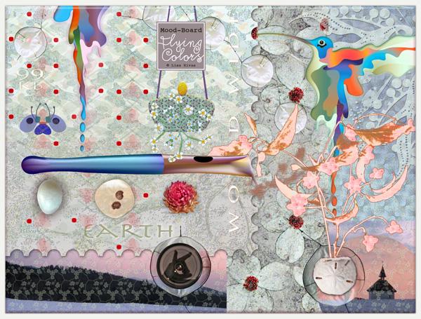"Mood-board ""C"" by Lisa Rivas"