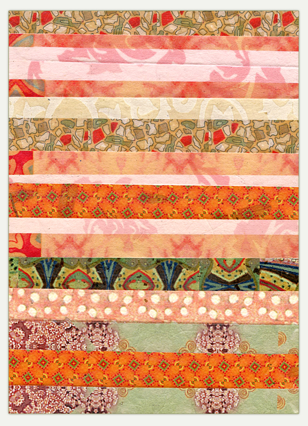 Stripes from scraps