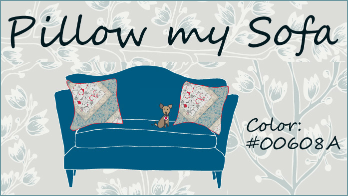 Pillow my Sofa by Andrea Rincon