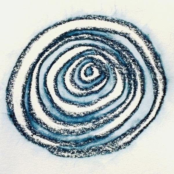 Blue Spiral - 2 - Lisa Rivas