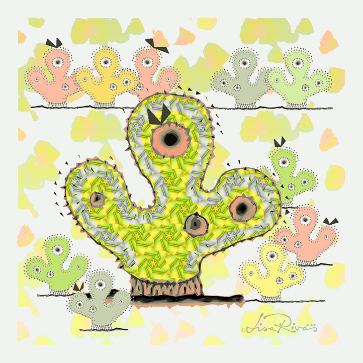 Cactus Chicks by © Lisa Rivas
