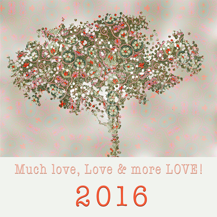 2016 Love by Lisa Rivas
