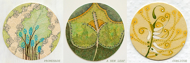 Leafs in a Circle by Lisa Rivas