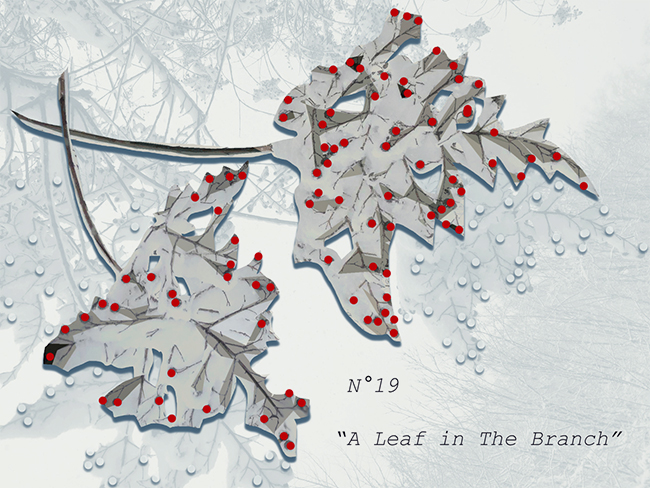"""A Leaf in The Branch"" by Lisa Rivas"