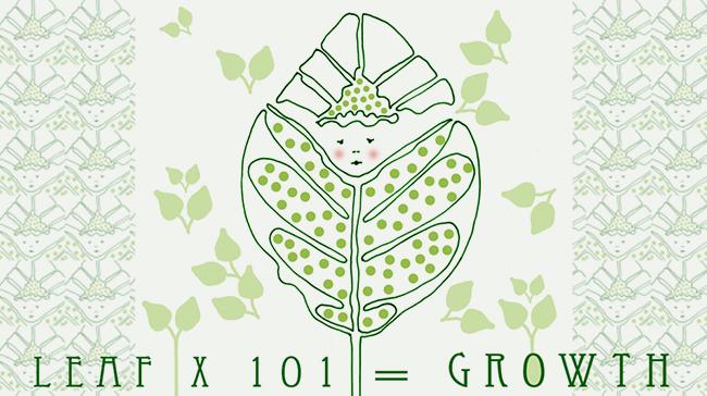 Leaf Baby Growth © Lisa Rivas