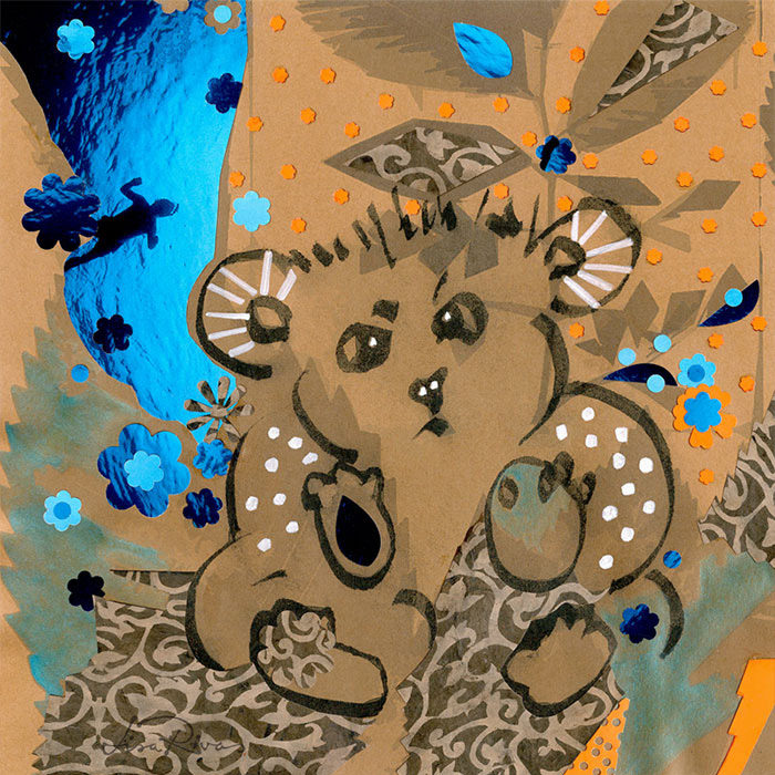 I See U Bear | Collage © LisaRivas