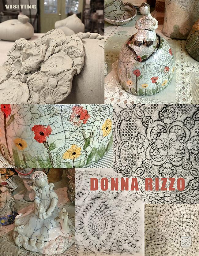Donna Rizzo visit © Lisa Rivas