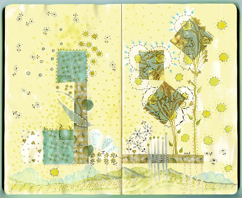So Pollen went wild? (Moleskine) © Lisa Rivas